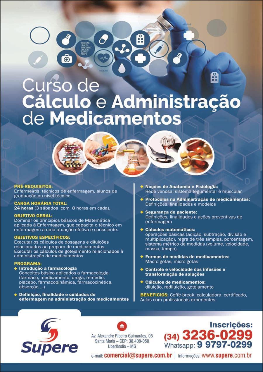 57f6e1348d Curso de Cálculo e Administração de Medicamentos